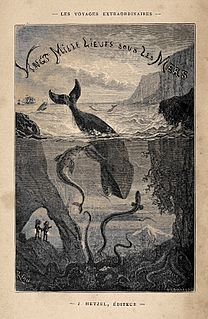 A classic science fiction adventure novel by French writer Jules Verne
