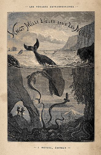 Twenty Thousand Leagues Under the Sea - Image: Houghton FC8 V5946 869ve Verne, frontispiece