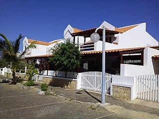 Murdeira Settlement in Sal, Cape Verde