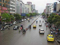 South Renmin Road (人民南路), Huaihua