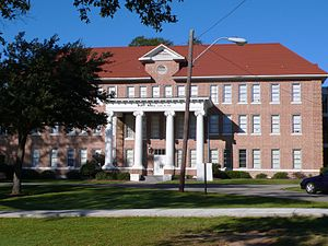 Poplarville, Mississippi - Huff Hall at Pearl River Community College