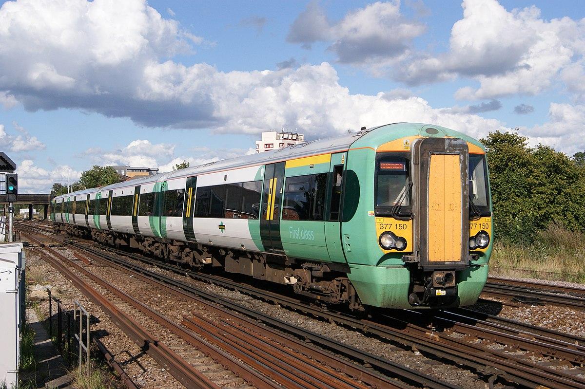 British Rail Cl 377 - Wikipedia on