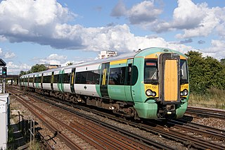 British Rail Class 377 Fleet of electric multiple units in Britain