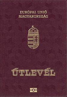 Hungarian passport passport