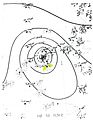 Hurricane Eight surface analysis 1944.jpg
