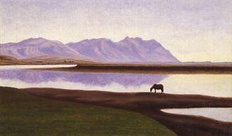 Þórarinn B. Þorláksson - Image: Hvita i Borgarfirdi