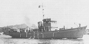 No.1-class auxiliary submarine chaser - Image: IJN auxiliary submarine chaser No 1 class 1945