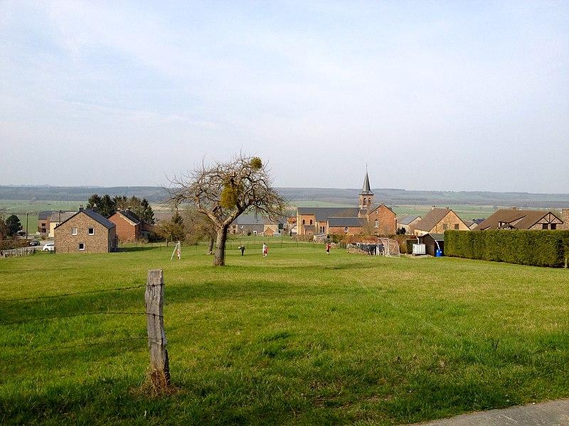 Le village de Martouzin, dans la commune de Beauraing (Belgique).