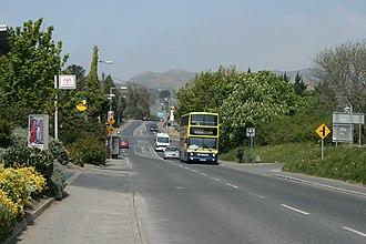 R761 road (Ireland) - R761 looking north from Greystones