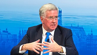 Michael Fallon - Fallon during the Munich Security Conference in 2016
