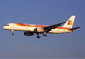 Iberia Boeing 757 Spijkers.jpg