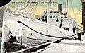 Ice-covered steamer SANTA CLARA at dock, Juneau, 1906 (AL+CA 1026).jpg