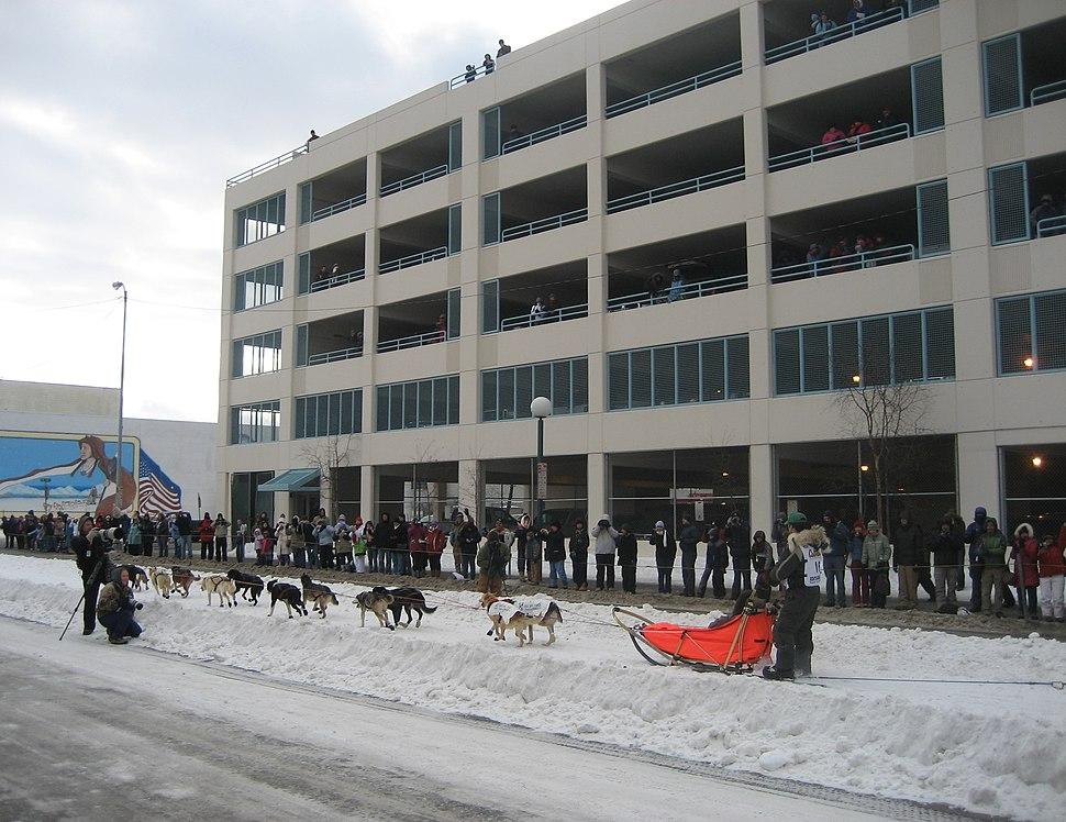 Iditarod in Anchorage Alaska