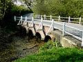 Idmiston - Bridge Over The River Bourne - geograph.org.uk - 782769.jpg