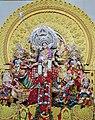 Idol of Devi Durga,Durga Puja,Bhubaneswar,Odisha.jpg
