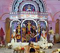 Idol of Goddess Durga worshiped in Durgabari.jpg