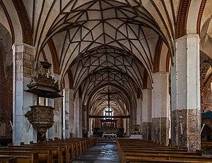St. Catherine's Church, Gdańsk - Image: Iglesia de Santa Catalina, Gdansk, Polonia, 2013 05 20, DD 04