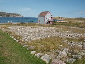 Une maison de pêcheur sur l'île aux Marins