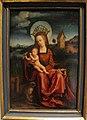 Imitatore di dürer, madonna della scimmia, fine XVI sec.JPG
