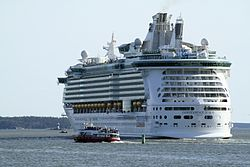 Independence of the Seas in Turku, Finnland