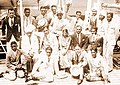 Indian hockey team en route 1932 Olympics.jpg