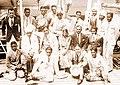 Indian hockey team en route 1932 Olympics.jpg