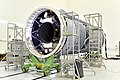 Indigenous Cryogenic Upper Stage of GSLV-F09 at Stage Preparation Facility.jpg