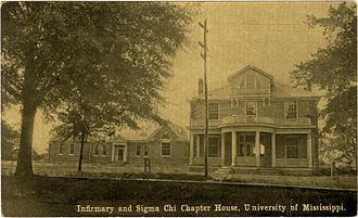 Sigma Chi - Infirmary and Sigma Chi Chapter House, University of Mississippi