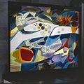 Interieur, aanzicht abstracte wand van gesmoltenglas - Eindhoven - 20366681 - RCE.jpg