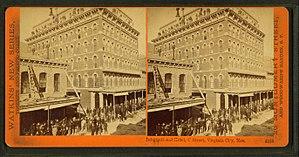 International Hotel (Virginia City) - The new International Hotel