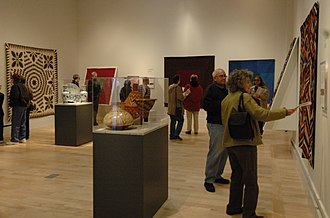 International Quilt Study Center & Museum - Image: International Quilt Study Center & Museum Quilts in Common Exhibition