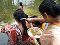Inviting Goddess Ganga - Hindu Sacred Thread Ceremony - Simurali 2009-04-05 4050074.JPG