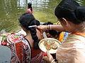 Inviting Goddess Ganga - Hindu Sacred Thread Ceremony - Simurali 2009-04-05 4050074.JPG