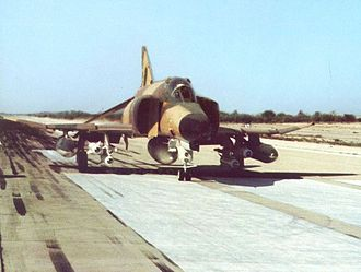 AGM-65 Maverick - An Imperial Iranian Air Force F-4E Phantom II carrying four AGM-65 Mavericks