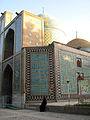 Iranian alone woman - sited near Mohammad Al Mahruq Mosque - Nishapur 3.jpg