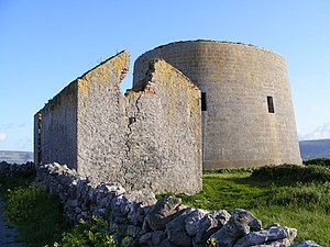 Burren (barony) - Finavarra Martello Tower