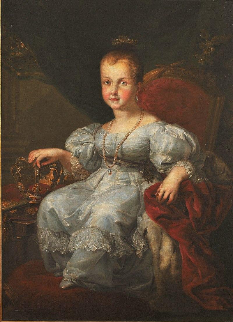 Isabel II, niсa, Vicente Lуpez.JPG