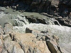 Isunngua - Meltwater canyon in Isunngua