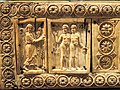 Ivory Box with Scenes of Adam and Eve, 1000-1100s AD, Byzantine, Constantinople, ivory, wood - Cleveland Museum of Art - DSC08381.JPG