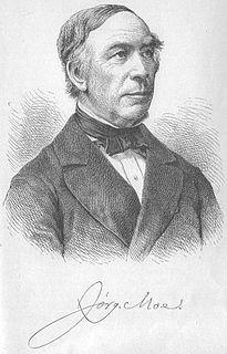 Jørgen Moe Norwegian folklorist, poet and bishop