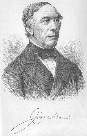 Jørgen Moe - Jørgen Moe by Adolf Closs