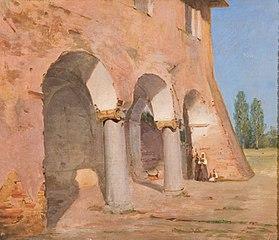 Søjlebygning i Rom