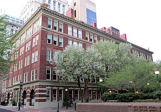 J. B. Lippincott & Co. - The J. B. Lippincott Headquarters Building, built in 1900 at 227 S. 6th Street across from Washington Square, and designed by William B. Pritchett in the Italianate style. In 2005 it was converted to a 33-unit luxury condo building.