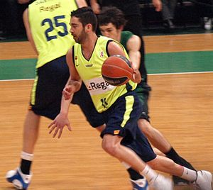 Juan Carlos Navarro (basketball) - Navarro with FC Barcelona in 2009.