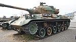JGSDF Type 61 Tank left front view at Camp Nihonbara October 1, 2017.jpg