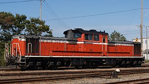 JNR Class DD51 - DD51 1027 in October 2007