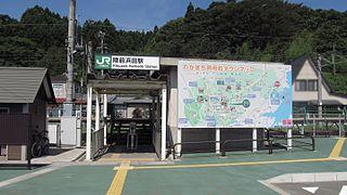 Rikuzen-Hamada Station Railway station in Rifu, Miyagi Prefecture, Japan