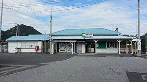 Awa-Katsuyama Station - Awa-Katsuyama Station in September 2016
