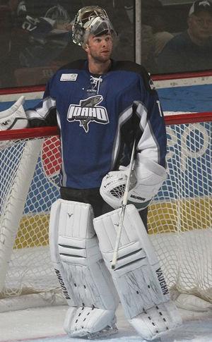 Jack Campbell (ice hockey) - Image: Jack Idaho