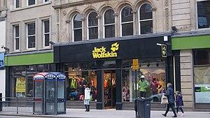 Jack Wolfskin - Jack Wolfskin shop in Leeds